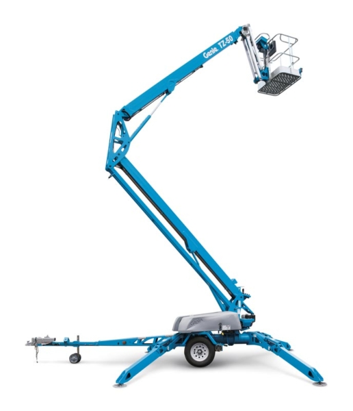 Genie® TZ™-50 trailer mounted boom